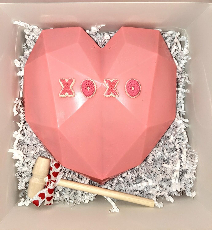 Smash-able Chocolate Heart