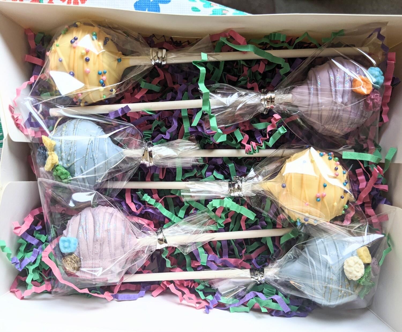 Spring 6pack cake pop