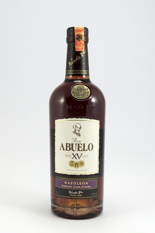 Ron Abuelo XV - Napoleon Cognac Cask Finish