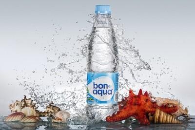 BonAqua с газом 0,9 литра