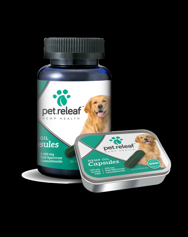 CBD Hemp Oil Capsules For Dogs