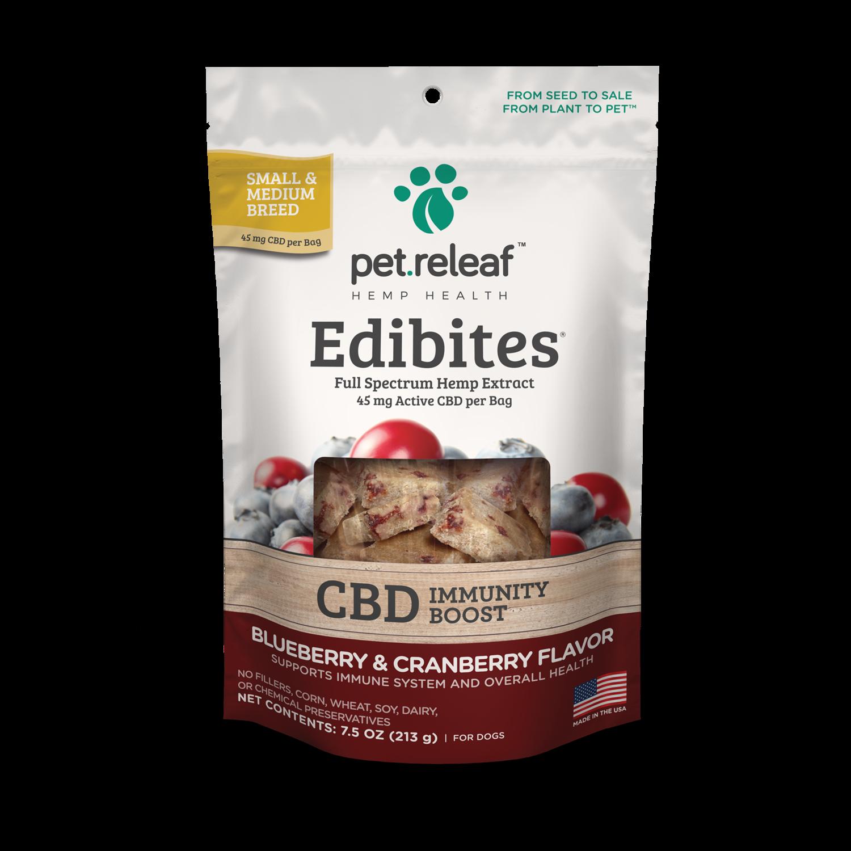 CBD-infused Hemp Oil Edibites (Peanut Butter Banana or Blueberry Cranberry)