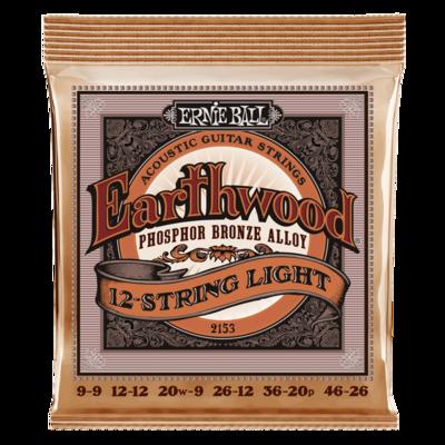 Ernie Ball Earthwood 12-String Acoustic Guitar Strings