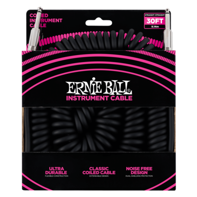 Ernie Ball Coiled Cable