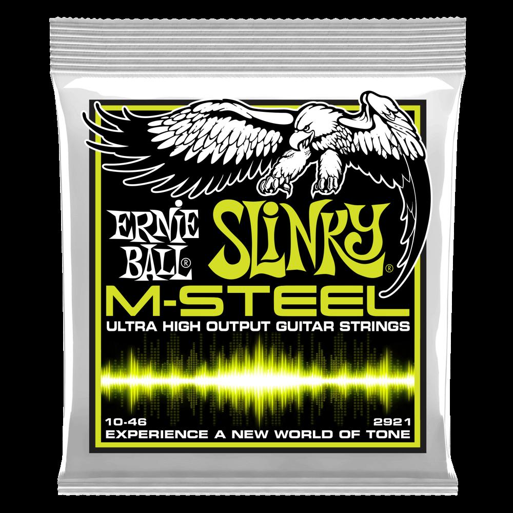 Ernie Ball M-Steel Ultra High Output Guitar Strings