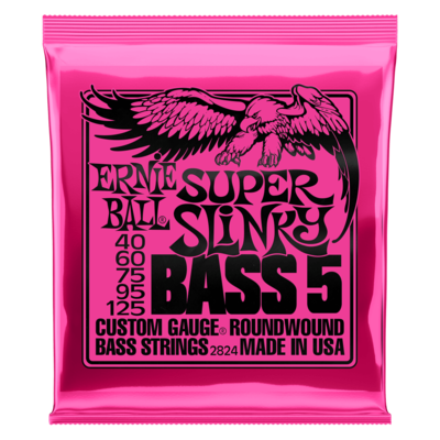 Ernie Ball Nickel Wound 5-String Electric Bass Strings