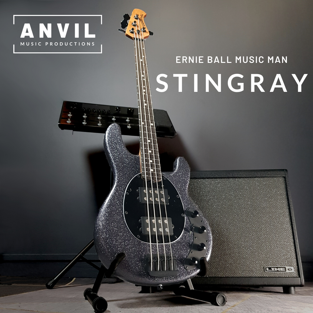 StingRay Special HH Charcoal Sparkle