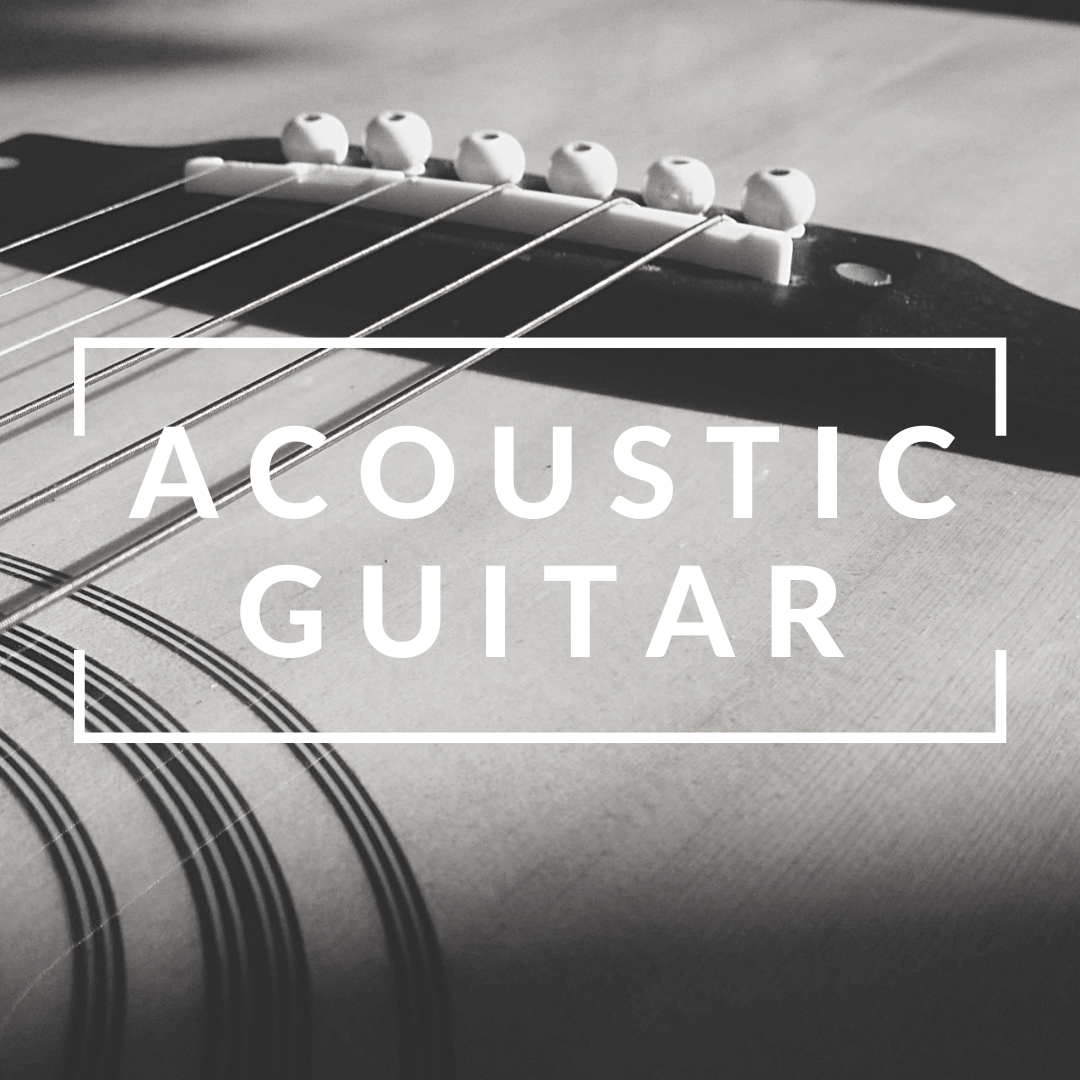 4x Acoustic Guitar Lessons (Individual)