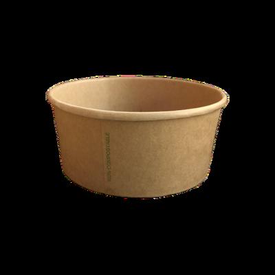 BIO Kraft/PLA Salad Bowl 1000ml
