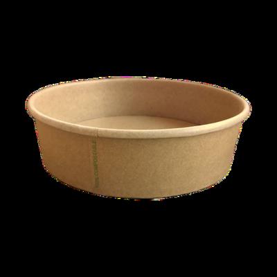 BIO Kraft/PLA Salad Bowl 900ml