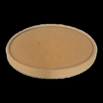 BIO Kraft/PLA Lid Φ185mm for Salad Bowl 900, 1100 & 1300ml