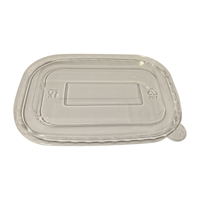 Anti-Fog PET Lid for Rectangular Containers