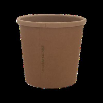 BIO Kraft/PLA Soup Cup 480ml/16oz