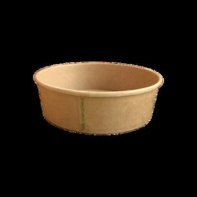 BIO Kraft/PLA Salad Bowl 500ml
