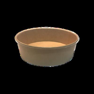 Kraft/PE Salad Bowl 500ml