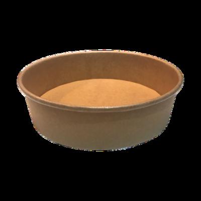 Kraft/PE Salad Bowl 900ml