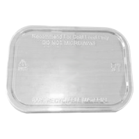 rPET Lid for Sugarcane Menu Boxes 500ml & 650ml