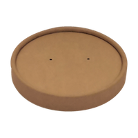 BIO Kraft/PLA Lid Φ117mm for Soup Cup 1000ml/32oz