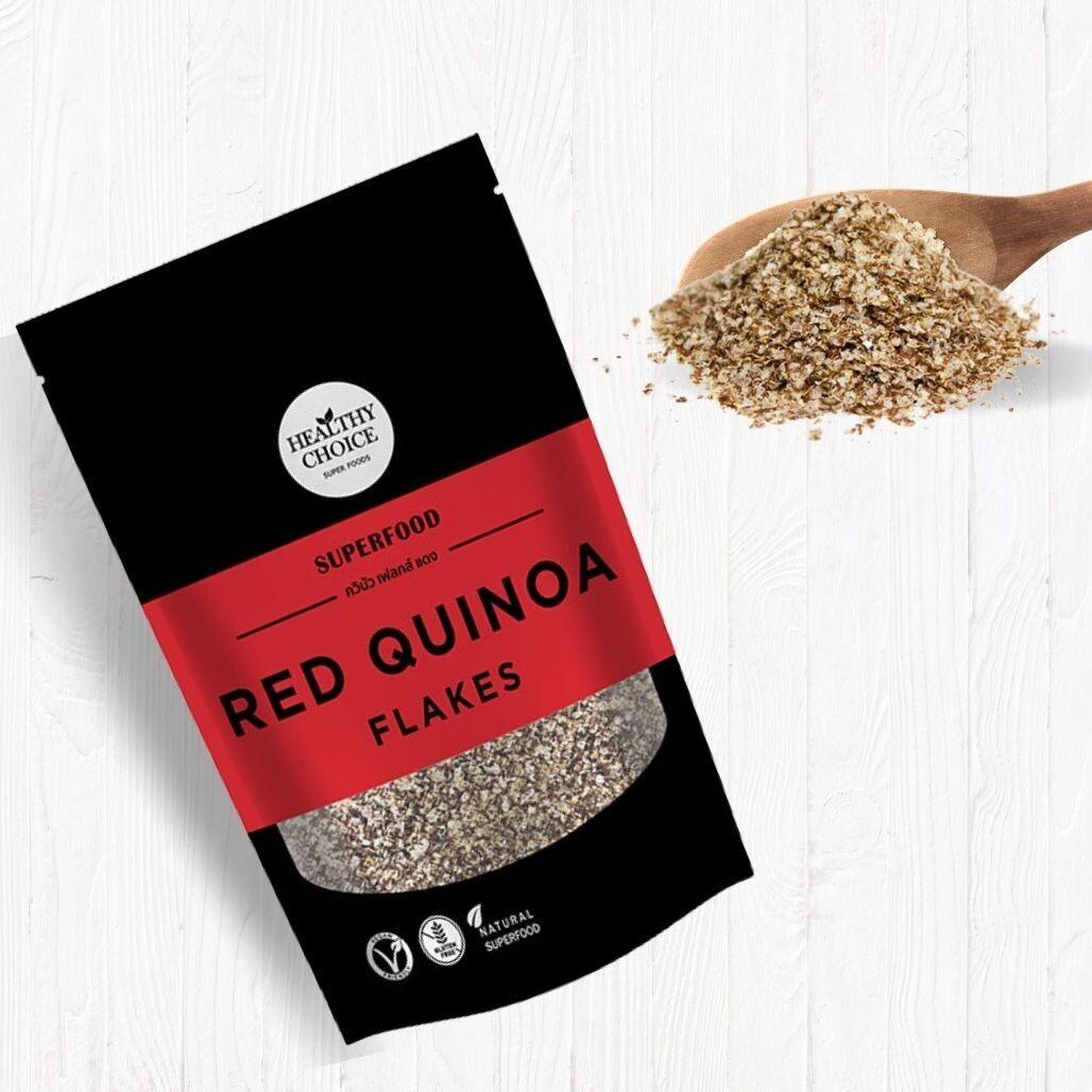 Red Quinoa Flakes ควินัว เฟลกส์ แดง 300 กรัม