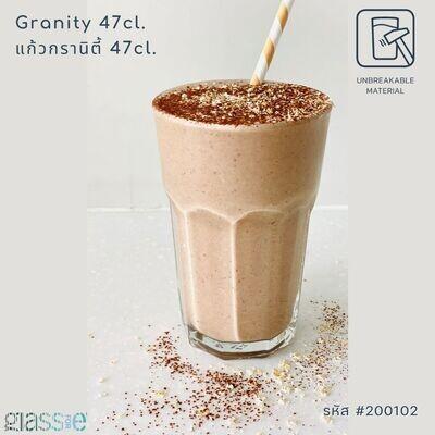 Granity 47cl. แก้วกรานิตี้ แก้วตกไม่แตก ขนาด 47cl.