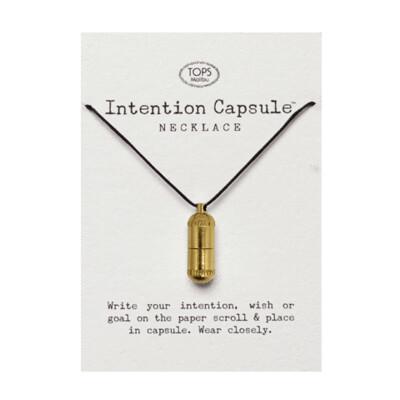 TOPS Malibu - Wish Capsule Necklace - Gold