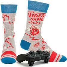 Blue Q Video Game Socks