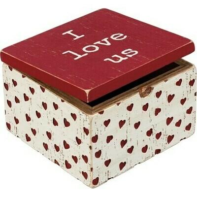 Primatives by Kathy I love Us hinged box