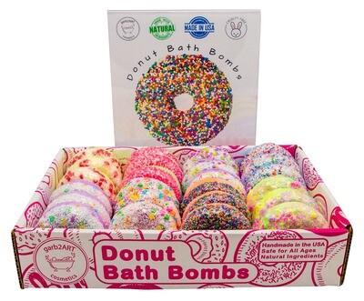 garb2ART Cosmetics - Donut Bath Bombs