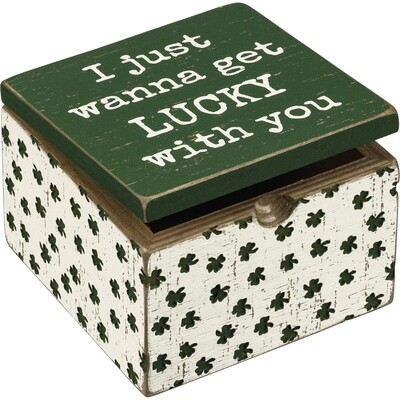 PBK Hinged Box - I Just Wanna Get Lucky With You