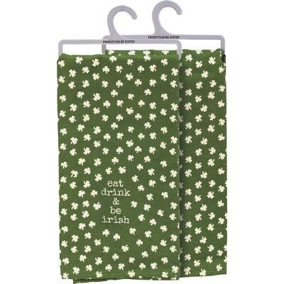 PBK Dish Towel - Eat Drink & Be Irish
