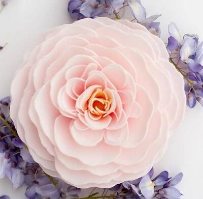 A'marie's Bath Flower Shop - Cherry Blossom Bathing Petal Soap Flower