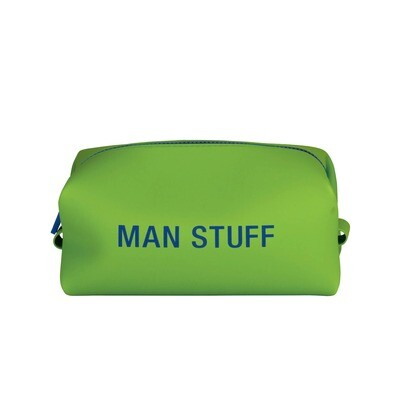 About Face Designs - Man Stuff Silicone Dopp Bag