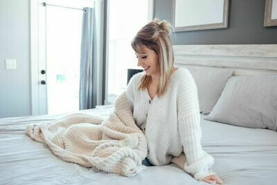 THE LUXE BLANKET-Solid Neutral