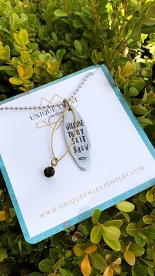 Unique Twist Jewelry - Welcome To My Shitshow Necklace