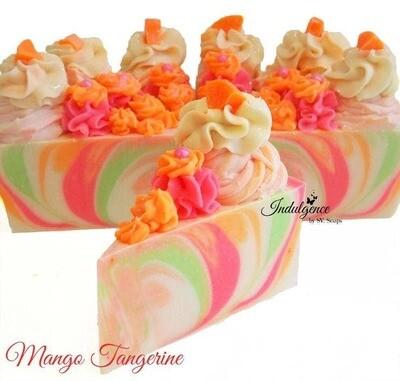 Indulgence Bath Bakery - Mango Tangerine Soap Cake Slice