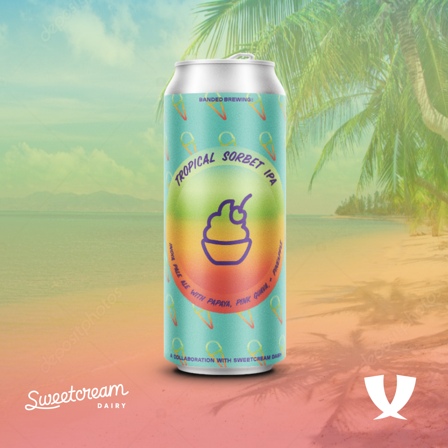 Tropical Sorbet IPA Cans