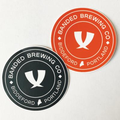 Circle Logo Stickers