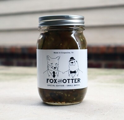 Small Batch   Sweet & (Extra) Spicy Pickles