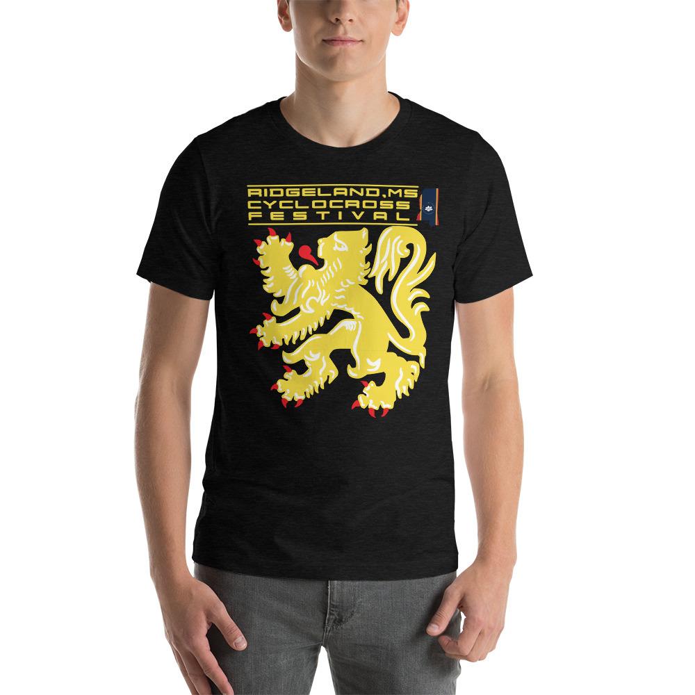 Ridgeland Cyclocross Festival- Adult Short-Sleeve Unisex T-Shirt