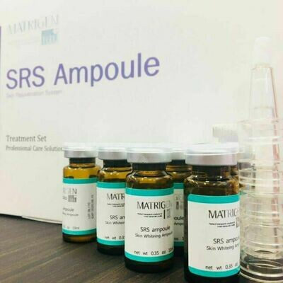 Matrigen SRS Ampoule – Skin Rejuvenation System – Whitening