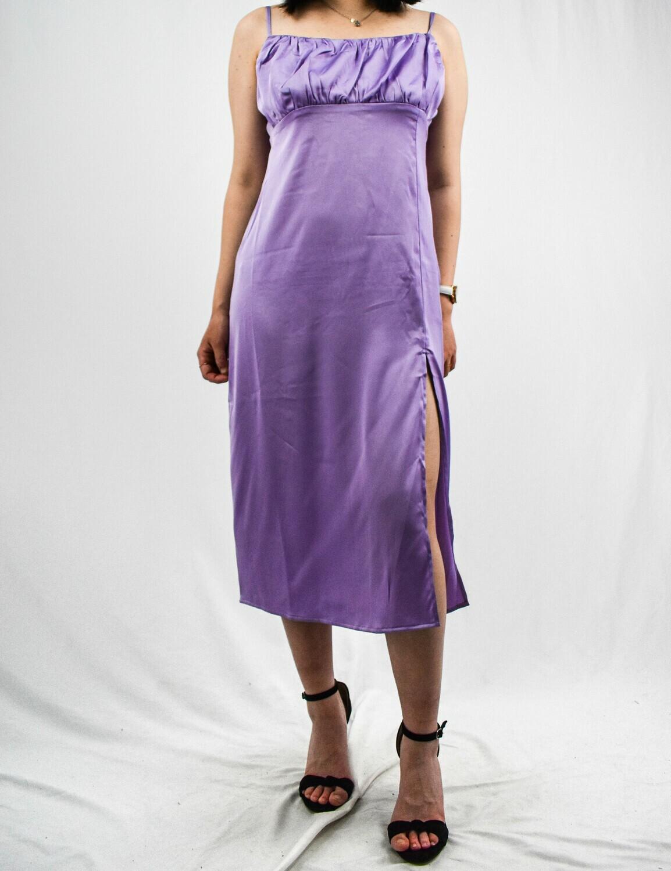 Lavender Midi Dress