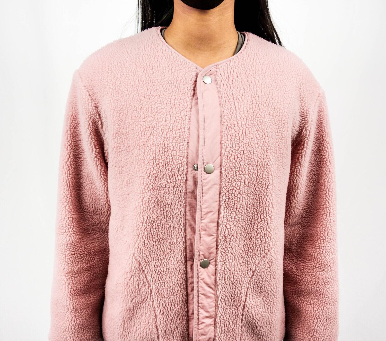 Pink Sherpa Jacket
