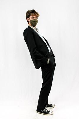 Dark Grey Suit (Blazer + Pants Set)