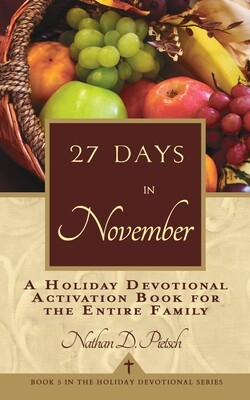 27 Days in November (Holiday Devotional Series, Book 5)