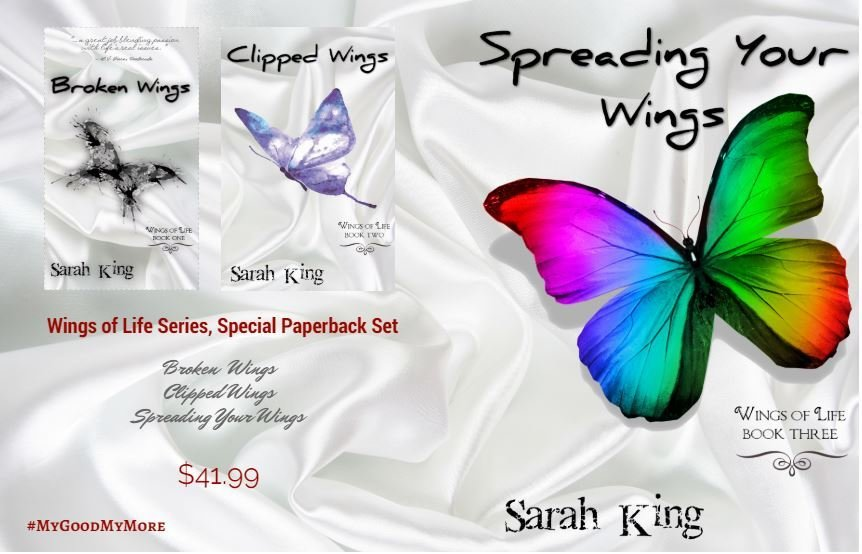 Wings of Life Series (Books 1-3, Paperback Set)