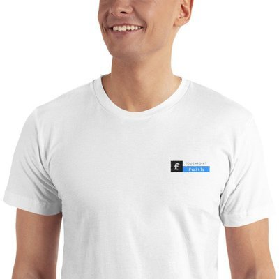 TouchPoint Faith Logo Embroidered T-Shirt