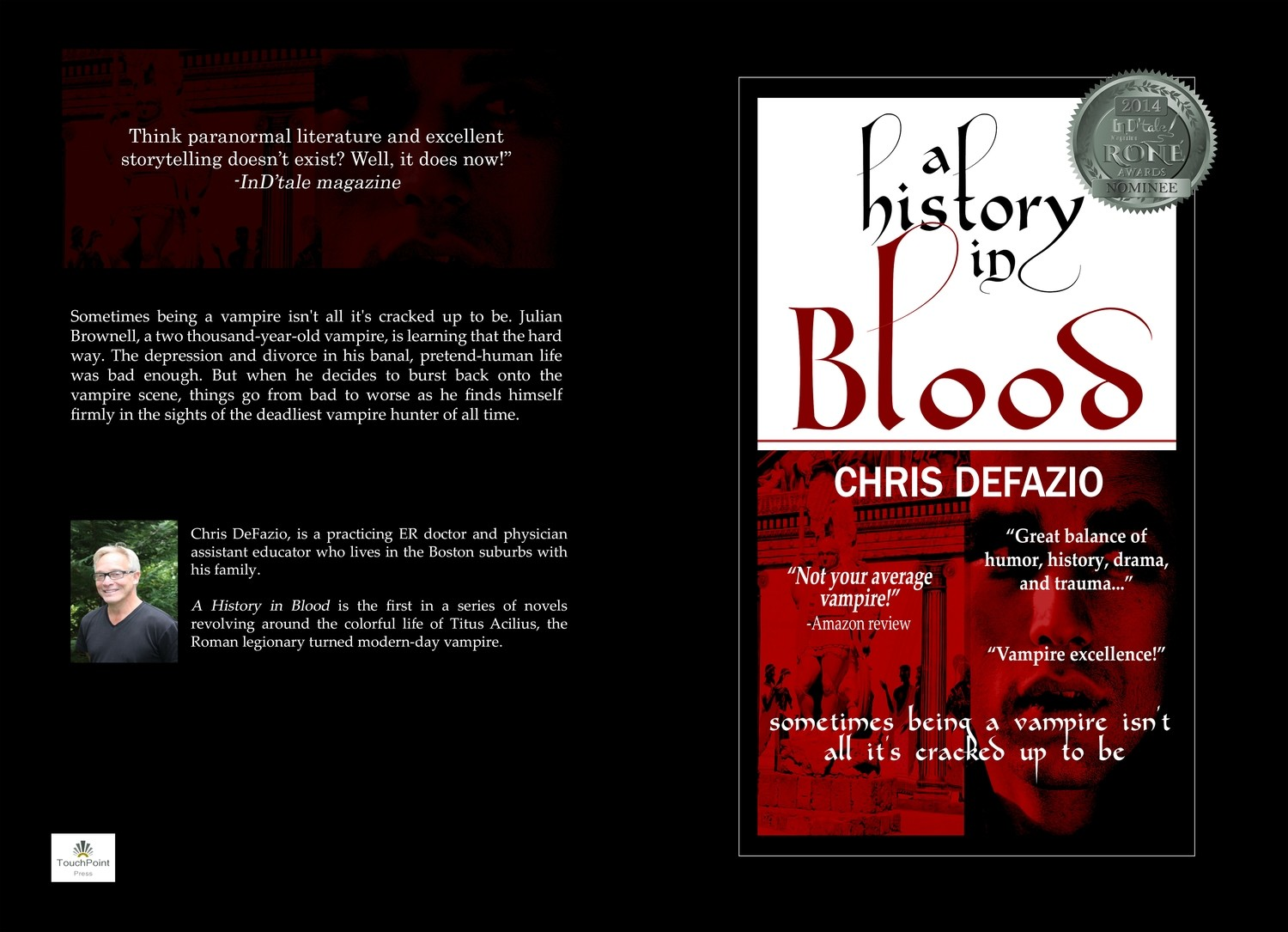 A History in Blood (Blood Trilogy #1)