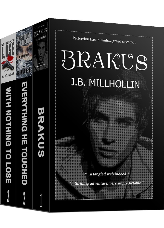 Brakus Trilogy Paperback Set (Books 1-3)