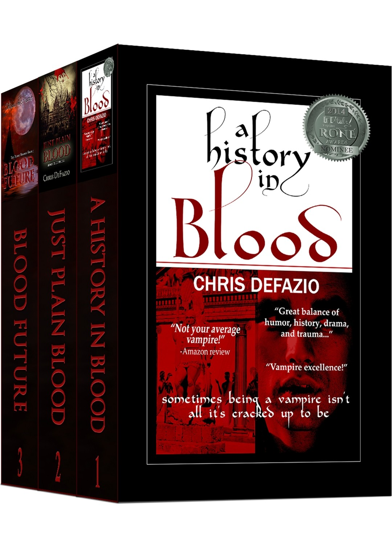 The Blood Trilogy Box Set (Books 1-3) - Ebooks