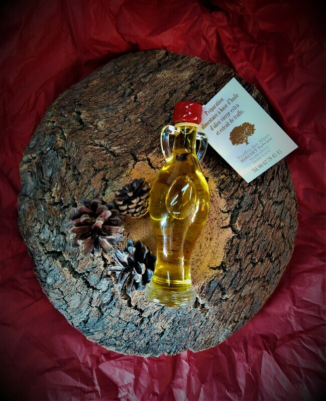 Huile d'olive aromatisée à la truffe
